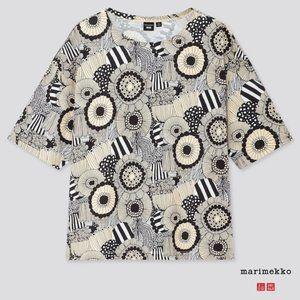 Uniqlo x Marimekko All Over Print Tshirt